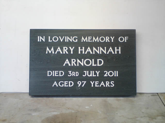 Headstones memorials and plaques  Saddleback Slate