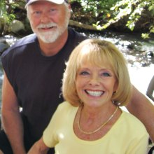 Rebecca and Mark take a brief break in Oak Creek Canyon, Sedona during September. It's back to the dance floor now.