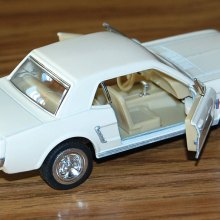 Model of a 1964 Mustang