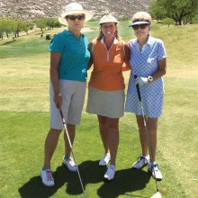 Karen Erickson, Denny Dalton and Cassie Bonnet