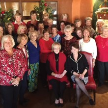 Attendees at Ladies Holiday Lunch at Vivace