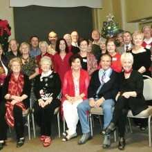 32 members and four guests of the British Club enjoyed their annual Christmas Party at the Activities Center.