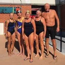 Arizona Masters State Long Course swim meet participants