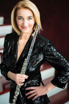 Grammy-nominated flutist Carol Wincenc joins the Southern Arizona Symphony Orchestra to perform Danish composer Carl Nielsen's Flute Concerto on November 19 and 20.