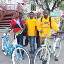 Youths benefit from the Bicycle Round-up