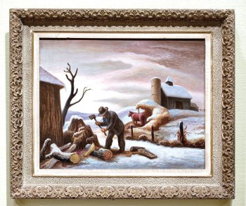 The Woodchopper, by Thomas Hart Benton