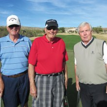 Dick Stehr, Steve Pomeroy and Tom McDonald