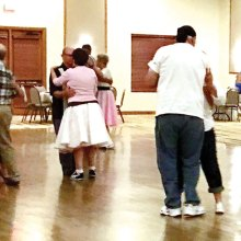 Wear your poodle skirt and saddle shoes to the next Sock Hop.