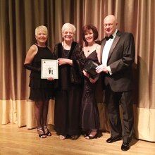 Claudia Booth, Ruth Birkhead, Ann Kurtz and Tom Kurtz
