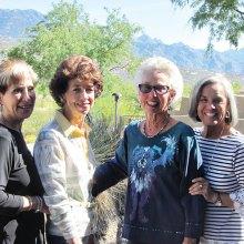 Donna Infald, Judy Rogoway, Bonnie Barazani, Sandy Lindquist