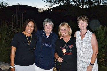 Becky Hubbard, Sandra Murray, Bonnie Barker, Molly Fullerton - Cardinals