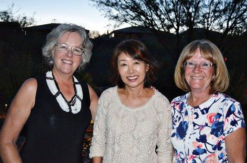 Deanna McCann, Marie Kahng, Kay McCollom; missing Lynn Stewart – Roadrunners