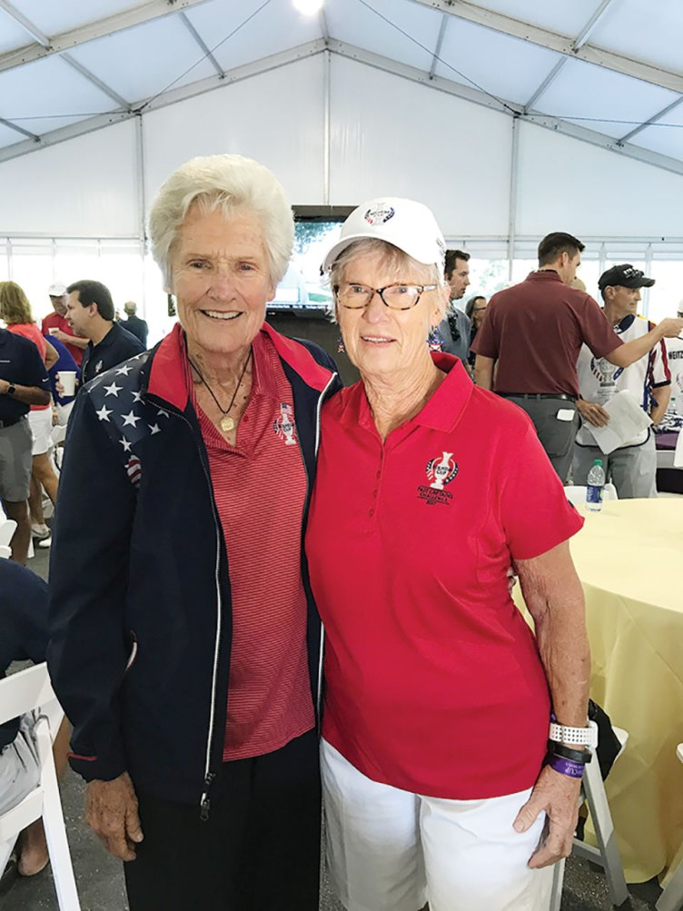 Kathy Whitworth and Diane Cain