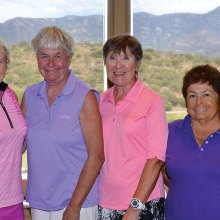 Prickly Pear winners: Marsha Camp, Julie Egolf, Vernie Tupa and Yolanda Niemann