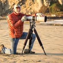 Bob Shea with Camera; Photo by Robert Shea.