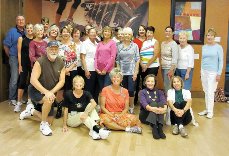 'Twas the night before Thanksgiving and the Rebecca's Level 1 line dancing Ranchers, with a sprinkle of SB residents, enjoyed a pre-holiday calorie burning session. Non-stop 80 minutes was worth at least an extra piece of pie. undefined