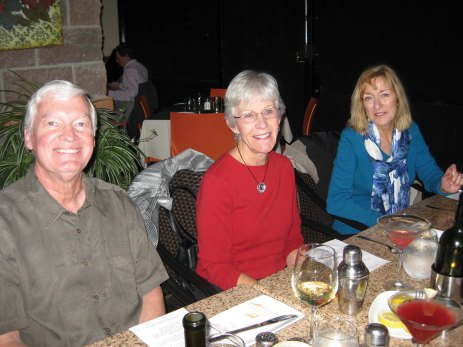Mike Neal, Bev Hall and Janette Martin