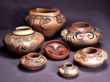 Southwest Indian pottery and American Indian basketry will be discussed at the January meeting of FSL.