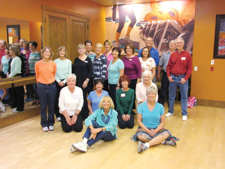 These are your neighbors who heavily work their brains each Wednesday while Line Dancing with Rebecca. They will have learned and perfected 12-14 dances again this winter and built brain connections while burning calories.