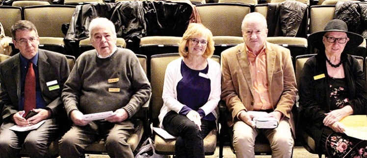Stuart Bridges, Kurt Brunell, Linda and John Crum, Linda Davis