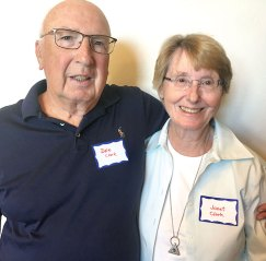 James Dal and Janet Clark