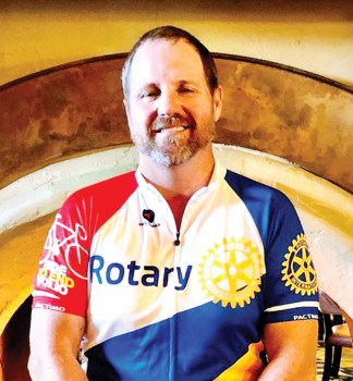 Mark Miller, chairperson, International Services Committee and many-time rider in the El Tour de Tucson.