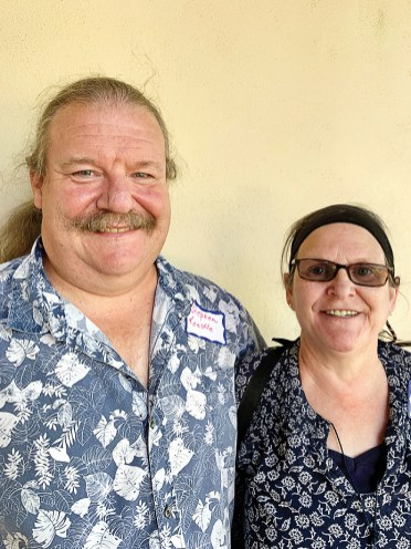 Stephen and Chrissy Kaestle moved from Pennsylvania to Unit 4A. Chrissy is proud to be the first quadriplegic woman to scuba dive in the ocean to a depth of 52 feet.