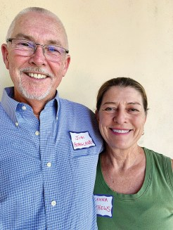 Jim Hoagland and Glenna Matthews are now in Unit 16C from California. Jim writes articles on birds.