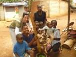 Visitando familias