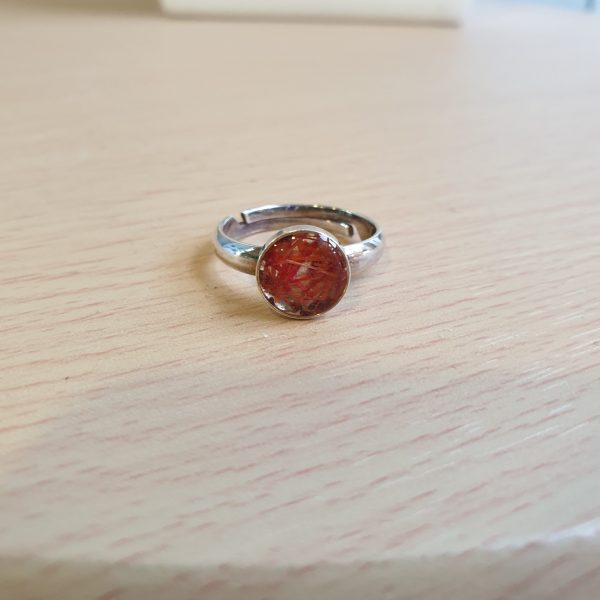 Silver Azalea Ring