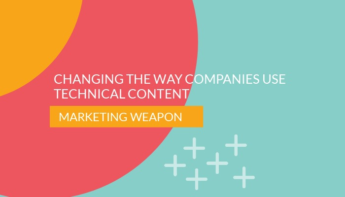 Changing the way companies use technical content