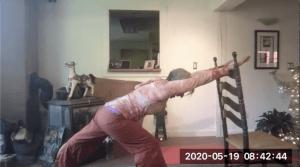 Lean on Me: Yoga with Sondra 5/19/20