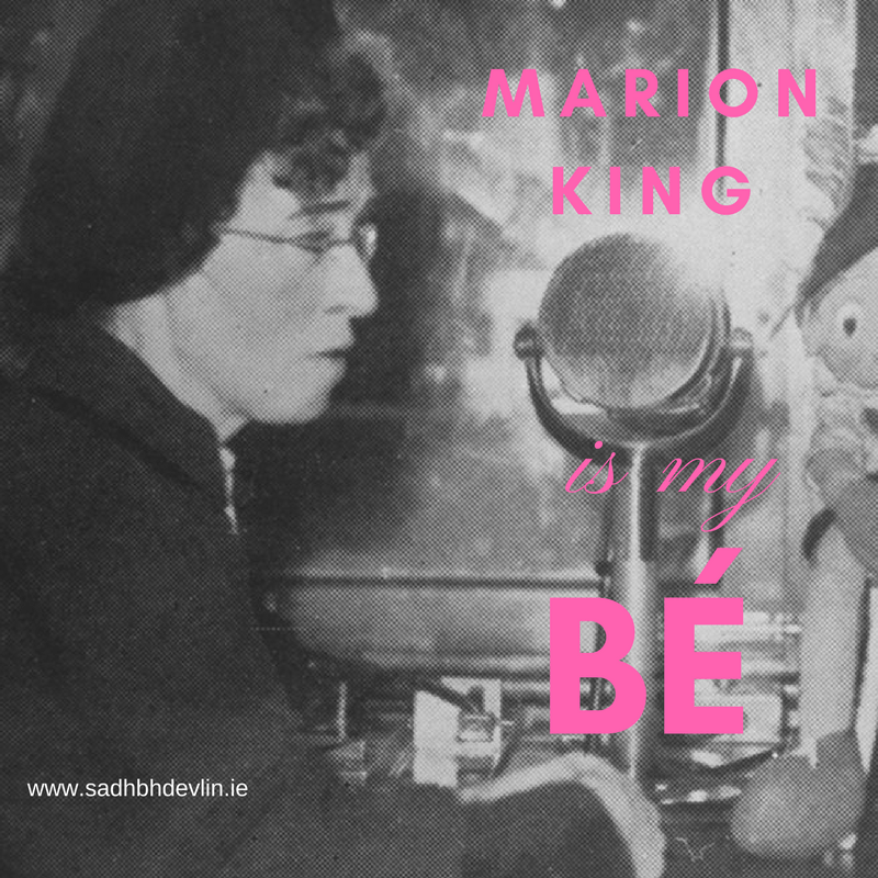 Marion King is my Bé