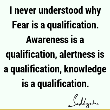 Fear Quotes: Fear sayings, quotations, picture quotes
