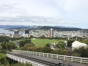 Top of the Cable Car in Wellington