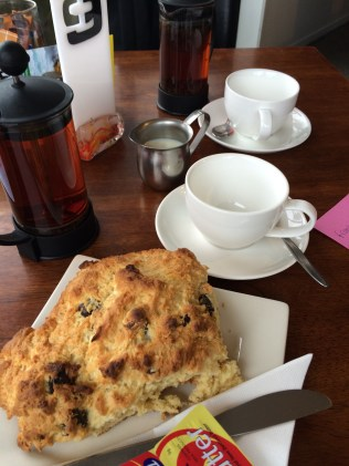 Sneak this picture in here, as this was the best scone I ate in New Zealand!