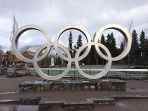Olympic park in Whistler