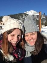 Sunny & snowy in Banff, Canada