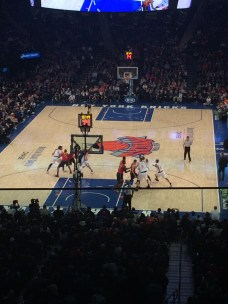 We saw a New York Knicks game in 2015