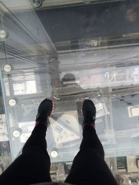 Step outside the tallest building in the Western Hemisphere- would you?