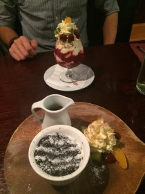 Chocolate HotPot & Pavlova Smash