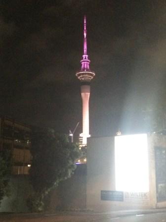 Skytower in Auckland CBD
