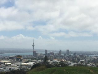 Skyline view of Auckland from Mt.Eden
