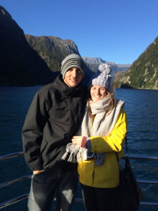 Together at Milford Sound <3