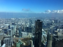 View from the top of Eureka Skydeck, Melbourne