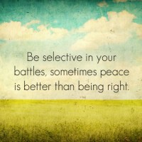 Being Selective