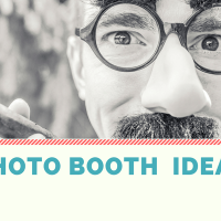 7 Great Photo Booth ideas/props for your wedding day!