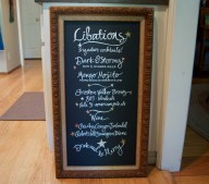 Wedding Signage, Lettering by Mom
