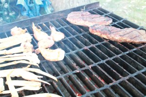 The Grill By the time I got to my camera most of the food had been cooked.