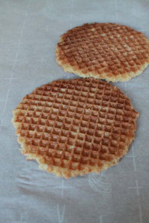 how to make belgian waffles with cut off edges
